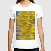 monet T-shirts featuring Autumn on the Monet by David Pyatt