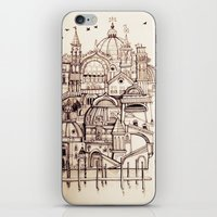 venice iPhone & iPod Skins featuring Venice by Justine Lecouffe