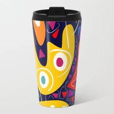 Night Life Abstract Art pattern decoration Travel Mug