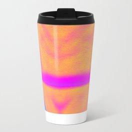 Orange Mountain Metal Travel Mug