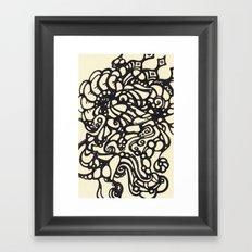 Collision Framed Art Print