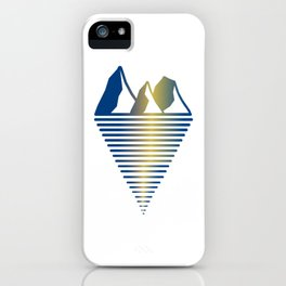 Mountain & Inlet iPhone Case