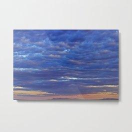 Mountain Sunset II Metal Print