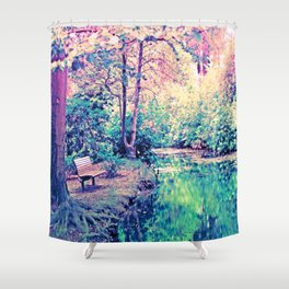 Silance  Shower Curtain