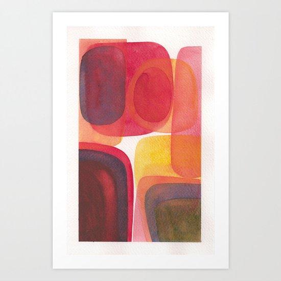Erythrophyll III Art Print