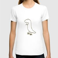 t rex T-shirts featuring t-rex by Liffy Designs