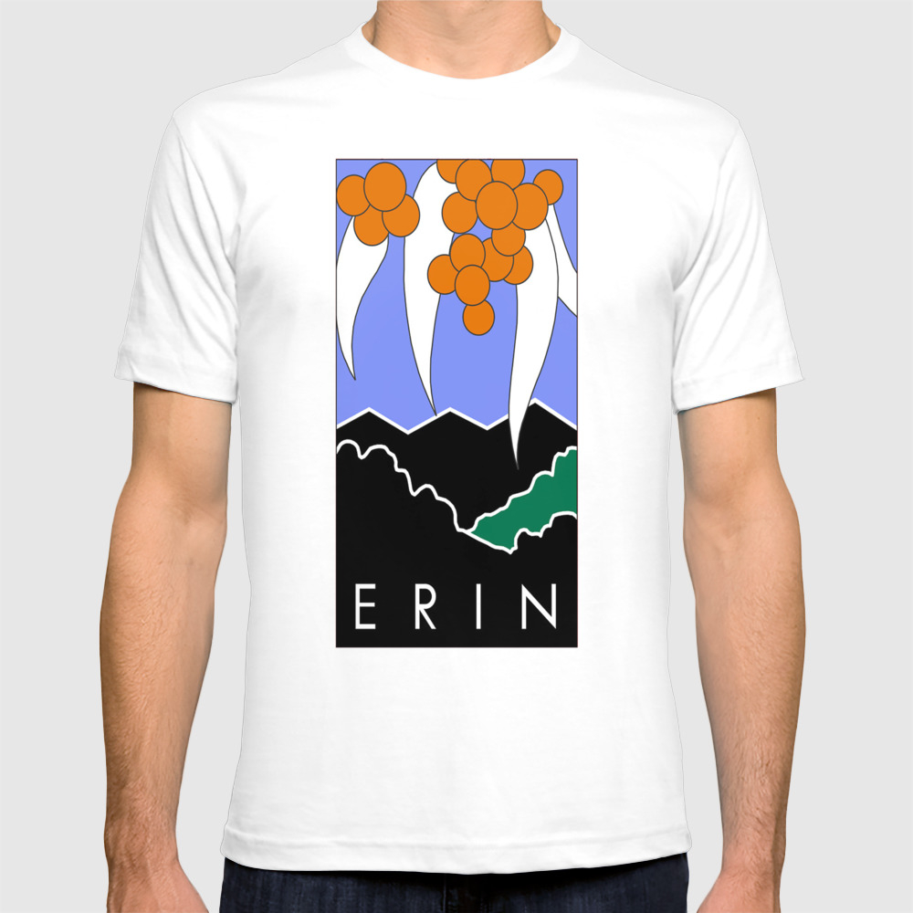Erin Logo (large) T-shirt by Monarchy7066 TSR7539141