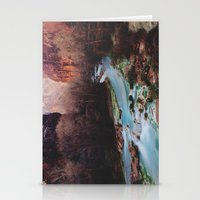 river Stationery Cards featuring Havasu Canyon Creek by Kevin Russ