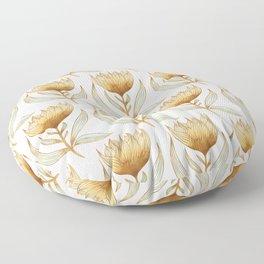 Bohemian Sunflower Pattern Floor Pillow