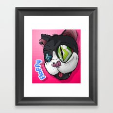 Floffy the killer Framed Art Print
