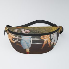 """Henri Rousseau """"The football players"""" Fanny Pack"""