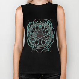 Sun Star and Moon Biker Tank