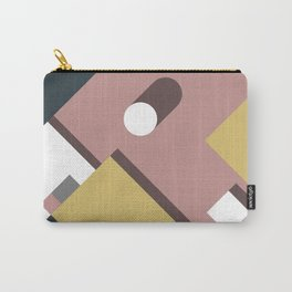 Geometric Shadow Carry-All Pouch