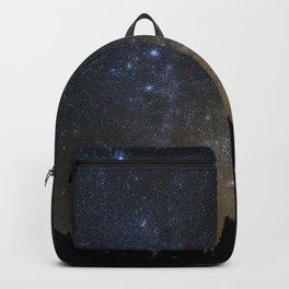 Orionids over Big Sky Backpack