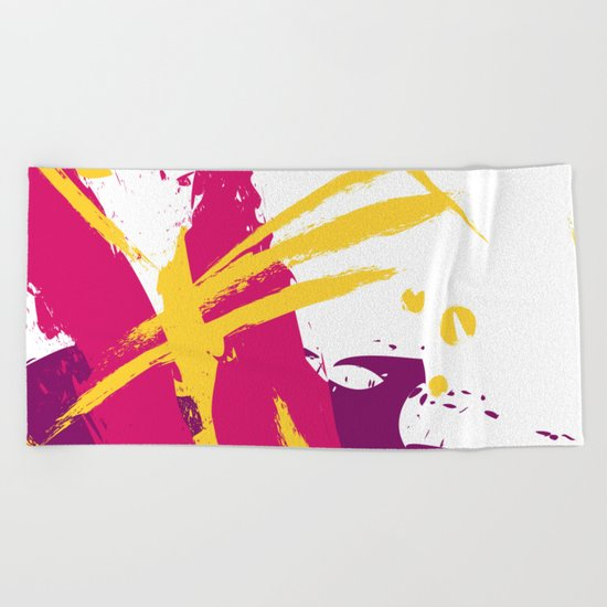 Fresh splash Beach Towel