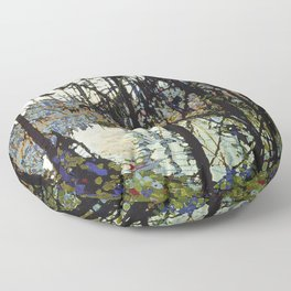 Tom Thomson - Northern River Floor Pillow