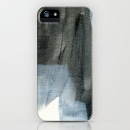 The Curious Inbetween #9 - Abstract Painting iPhone Case
