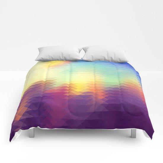 Triangle design Comforters