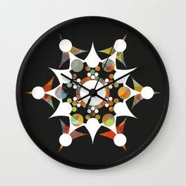 Hippie Revolver Wall Clock