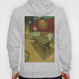 The Night Cafe by Vincent van Gogh Hoody