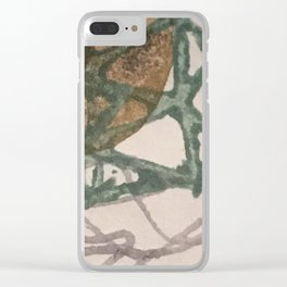 dried petals Clear iPhone Case