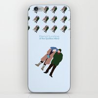 eternal sunshine of the spotless mind iPhone & iPod Skins featuring Eternal Sunshine of the Spotless Mind by bonieiji