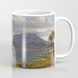 Mount William and part of the Grampians in West Victoria by Eu von Guerard Date 1865  Romanticism  L Coffee Mug