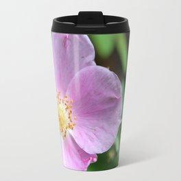 Light Pink Wild Rose Travel Mug