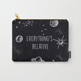 Everything's  Relative Carry-All Pouch