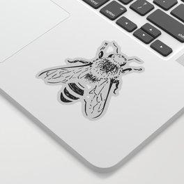 Ink Bee Sticker