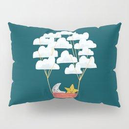 Hot cloud baloon - moon and star Pillow Sham
