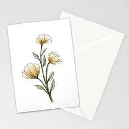 Floral 002 Stationery Cards