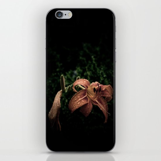 Wilted Lily  iPhone & iPod Skin