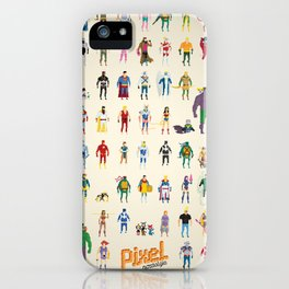 Pixel Nostalgia iPhone Case