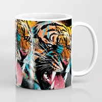 mad Mugs featuring FEROCIOUS TIGER by dzeri29