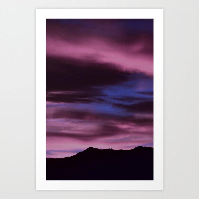 SW Rose Quartz Sunrise Art Print