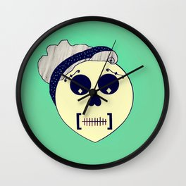 Day of the Dead Pin-up Wall Clock