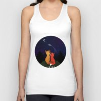 i want to believe Tank Tops featuring I Want To Believe by Sutexii