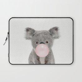 Bubble Gum Baby Koala Laptop Sleeve