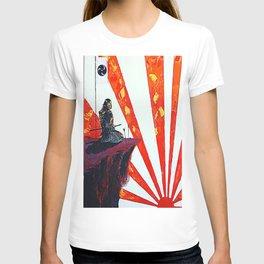 samurai sunrise T-shirt