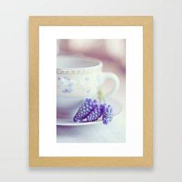 A taste of spring Framed Art Print