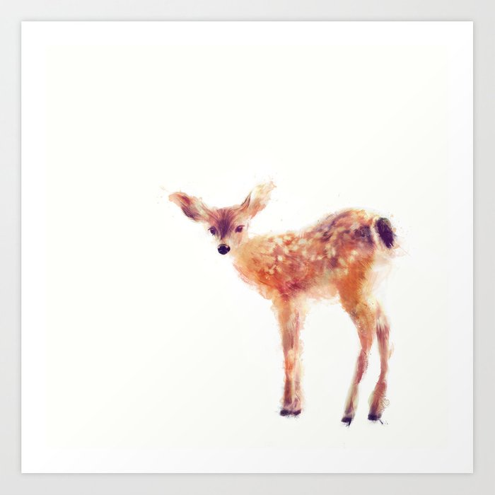 Discover the motif FAWN by Amy Hamilton as a print at TOPPOSTER