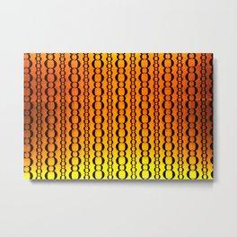 Gold and Chains - Vivido Series  Metal Print