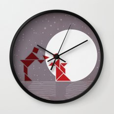 TEA CEREMONY Wall Clock