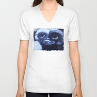 gizmo V-neck T-shirts featuring GIZMO by John McGlynn