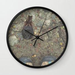 Travel Slowly Wall Clock