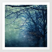silent Art Prints featuring Silent Night  by Laura Ruth
