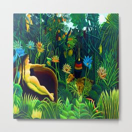 Henri Rousseau The Dream Metal Print