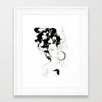 vienna Framed Art Prints featuring Vienna by waterandinkprints