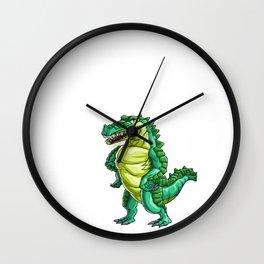 Big Brother Crocodile Alligator Reptile Animal Wall Clock